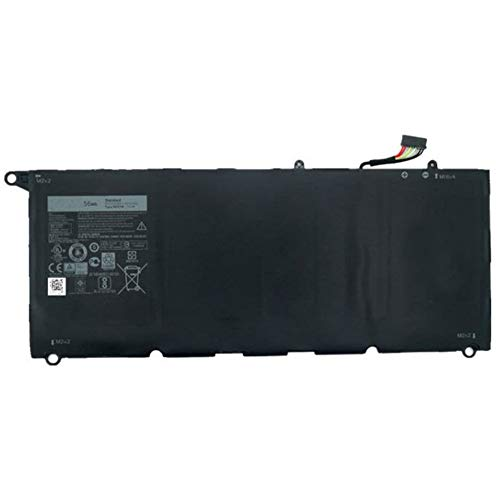 COCO-MALL 56Wh 7.6V 6Cell Battery 90V7W for Dell XPS13 13D-9343-350, 13-9350-D1608, 13D-9343-3708, 13-9350, 13D-9343-370, 13-9350-D1708 5K9CP DIN02