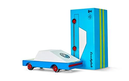 Candylab Toys 853470008553 Coche de Madera, Azul Racer