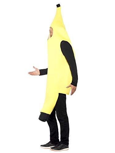Smiffys-30468 Disfraz de banana, enterizo, color amarillo, Tamaño ...