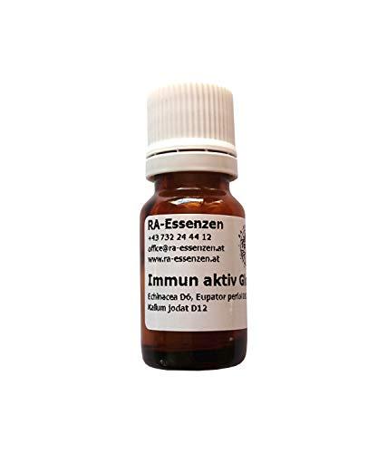 Immun aktiv Globuli I mit extra angefertigter Rezeptur für Ihr Immunsystem I 10g Bio-Globuli, radionisch informiert - in Apothekenqualität