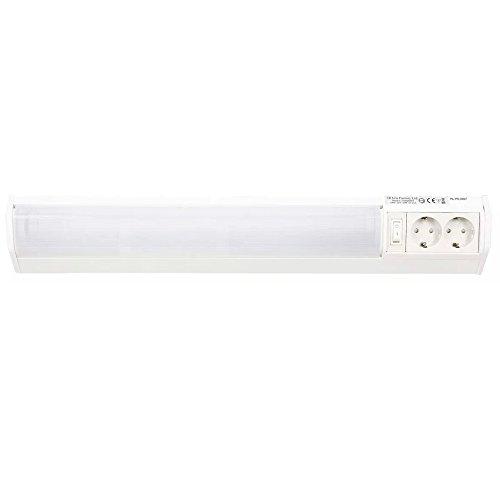 Hi Lite 14020037 Lichtleiste DRESDEN Unterbauleuchte 15W Weiß 60cm inkl. Leuchtmittel