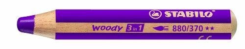 STABILO woody 3 in 1 Einzelstift lila - Multitalent-Stift