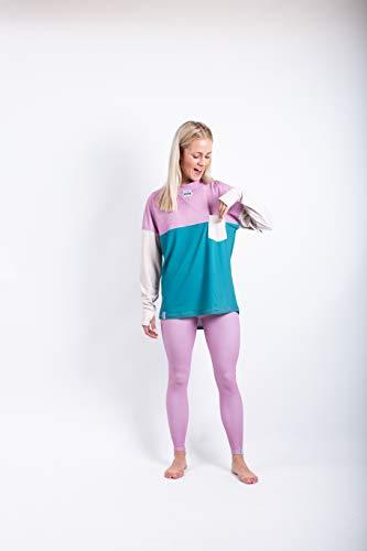 Eivy Venture Top - Camiseta Interior Funcional para Mujer (Talla XL), Color Crema