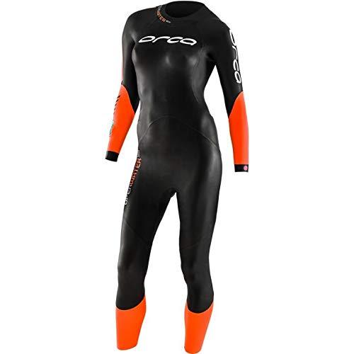 ORCA Openwater SW Neoprenanzug Damen schwarz/orange Größe M
