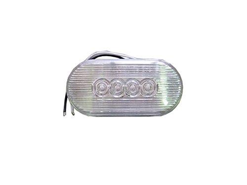 LED 4灯 バックランプ サイドマーカー ランプ ホワイト 車幅灯216202 ナンバー灯 牽引車 トレーラー 台車 灯火類