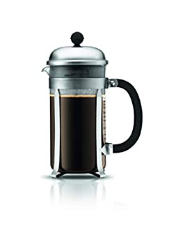BODUM 1928-57 Matte Chrome Chambord 8-Cup Coffee Maker 34-Ounce 34 Oz