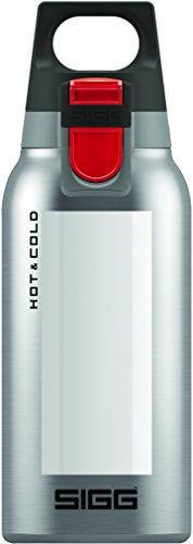 SIGG Hot & Cold ONE Accent White, Vakuum-isolierte Thermo-Flasche aus Edelstahl, 0.3 L, BPA Frei, Weiss