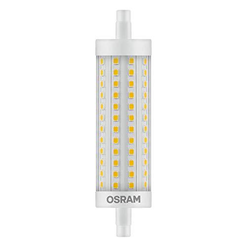 OSRAM LED LINE R7S | Tube Crayon LED culot R7s, 15W = 125W équivalent incandescent | Blanc chaud | 2700K