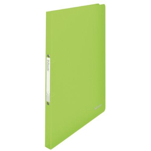 Esselte 624035 VIVIDA Ringbuch (A4, PP, 2 Ringe, 16 mm) grün