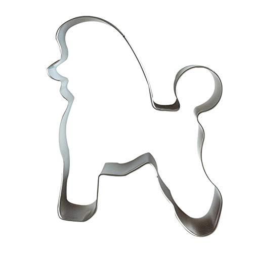 Stampo per biscotti a forma di cane, accessorio da cucina per decorazione fai da te, in acciaio inox, 1#, Taglia libera