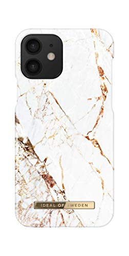 IDEAL OF SWEDEN Handyhülle für iPhone 12 & iPhone 12 Pro (Carrara Gold)