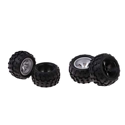 freneci 4X Juego de Neumáticos de Llanta Izquierda para WLtoys A979