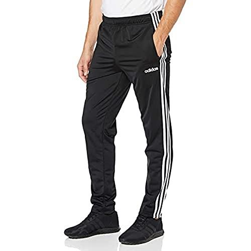 adidas E 3S T PNT TRIC Pantalones de Deporte, Hombre, Black/White, XL