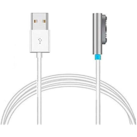 Access【100cm】 マグネット充電ケーブル for Sony xperia Z1/Z2/Z3 に対応 チャージングケーブル LED付き エクスペリア 1,0M ES12SV