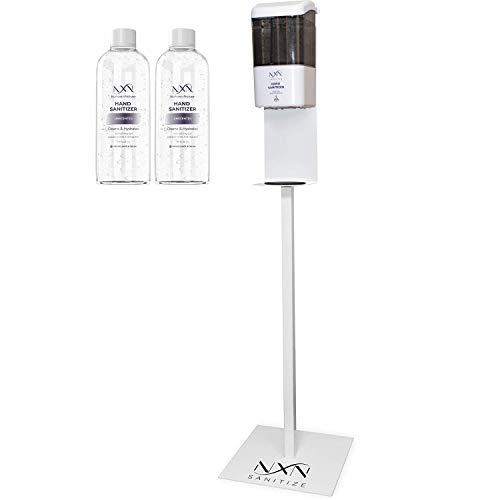 NxN Automatic Touchless Hand Sanitizer Dispenser Station with Floor Stand, for Home and Commercial...