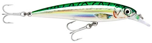 Rapala X-Rap Saltwater Lure with Two No. 2 Hooks, 1.2-2.4 m Swimming Depth,...