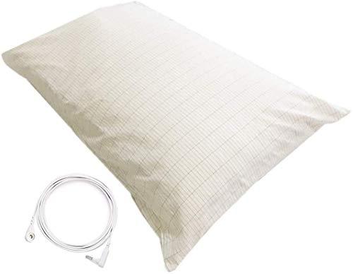 Grounding Pillowcase Silver Conductive Grounding Mat for Better Sleep...