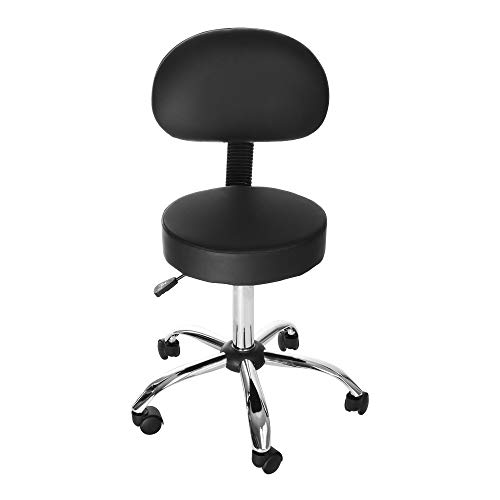 Haluoo Multifunctional Hydraulic Swivel Office Chair Height Adjustable Desk Chair Computer Chair Work Chair Medical Salon Stool Facial Spa Stool Drafting Bench for Kitchen Home Office Shop Study Room