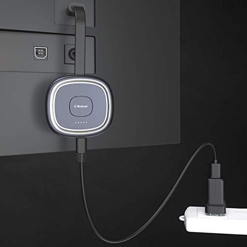 YiFeiCT Récepteur d'affichage WiFi sans fil 2,4 + 5 G HDMI pour téléphone portable