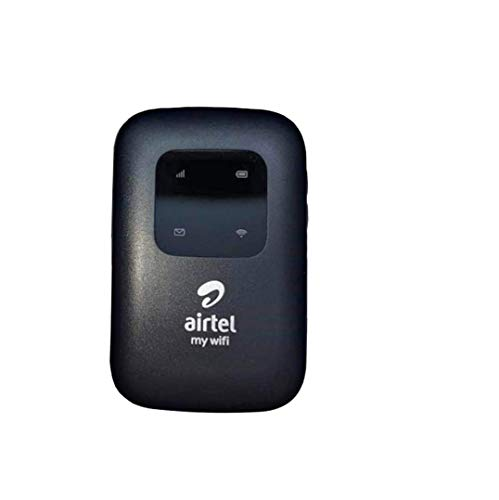 PCSSYSTEM Airtel 4G LTE Hotspot Binatone Portable WiFi Data Card -2700 mAh Battery (Black)