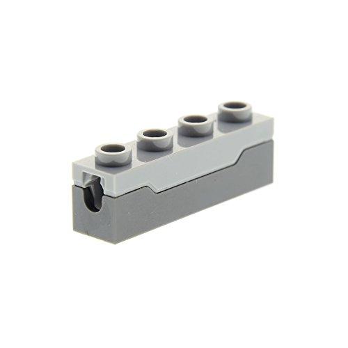 Bausteine gebraucht 1 x Lego System Kanone Neu-Dunkel Grau 1x4 Neu-Hell Grau Feder Katapult Waffen Zubehör Set Star Wars Ninjago 75054 75043 75189 75159 15301c01