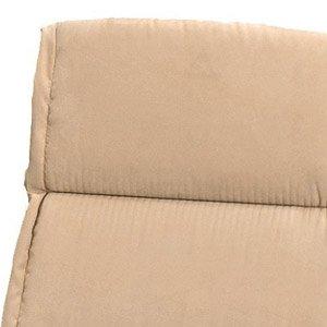Siena Garden Auflage für Sessel, hoch, 125 x 52 x 6 cm Microfaser/uni natur