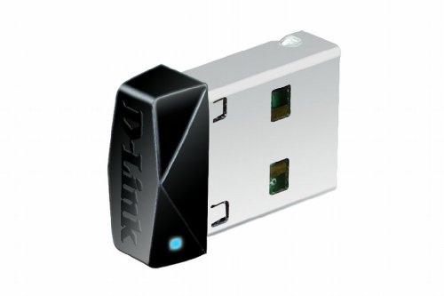 D-Link DWA-121 Adattatore USB, Wireless N 150 Micro, Nero/Antracite