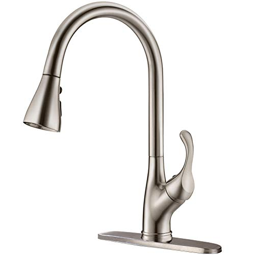 APPASO Pull Down Kitchen Faucet with Sprayer...