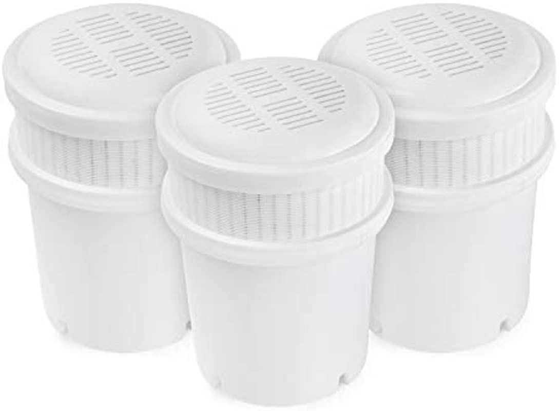 AquaBliss 3 Pack Replacement Water Filter Pitcher Cartridges