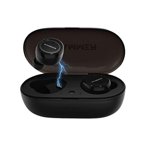 Hammer Airflow in-Ear True Wireless Earbuds (TWS Earbuds), with Bluetooth 5.0, 3-4...