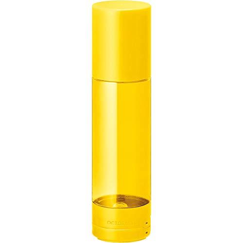 キングジム ペンケース 倒れない ペン立て オクトタツ 黄色 2564キイ