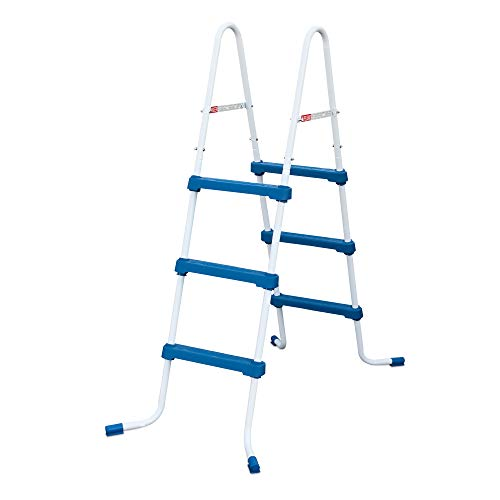 Heavy Duty Steel Above Ground Pool Ladder - 36 in.