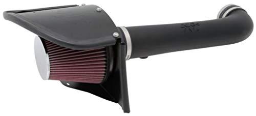 K&N Cold Air Intake Kit: High Performance, Increase Horsepower: Compatible with 2012-2018 Jeep (Wrangler, Wrangler JK) 3.6L V6,63-1566