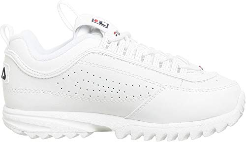 Fila Disruptor II FW02945-111 Leather Youth Trainers - White