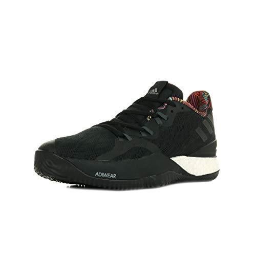 adidas Crazy Light Boost 2018, Zapatos de Baloncesto Hombre, Negro (Core Black/DGH Solid Grey/Core Black), 49 1/3 EU
