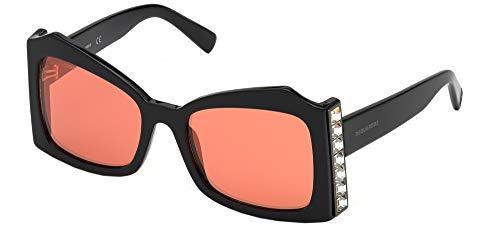 DSQUARED2 Occhiali da sole DQ0357 01U occhiali Donna colore Nero lente bordeaux taglia 56 mm