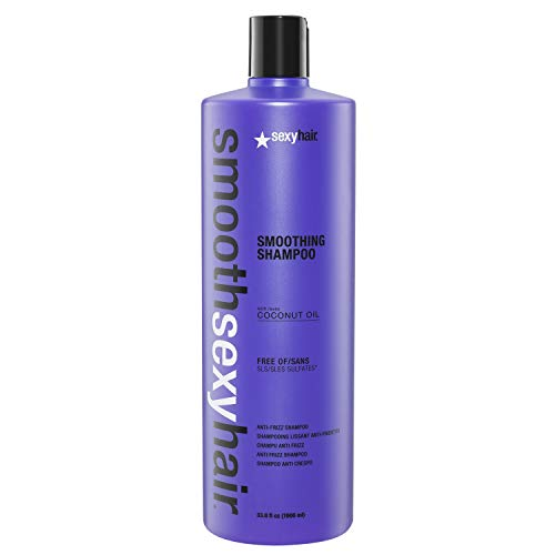 Sexy Hair Smooth Sexy Hair Sulfate-Free Smoothing Shampoo 1000 millilitriSexy Hair Smooth Sexy Hair Sulfate-Free Smoothing Shampoo 1000 millilitri