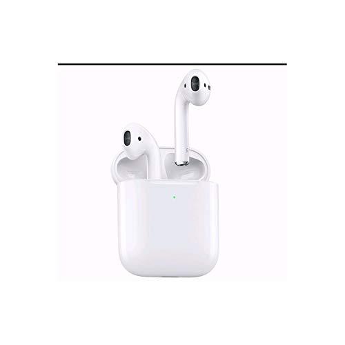 Auriculares Bluetooth TWS i12 Mini Auriculares Sonido Claro Control Tactil Auto Pairing Micrófono Incorporado 24 Horas de Juego IPX7 Impermeable Auriculares Inalámbricos para Deporte Blanco