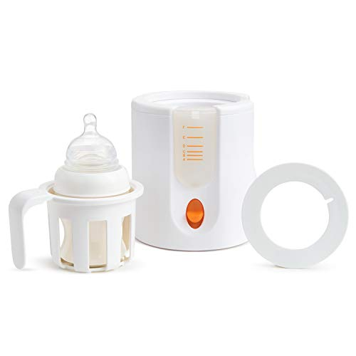 Munchkin High Speed Bottle Warmer, White, 1 Count