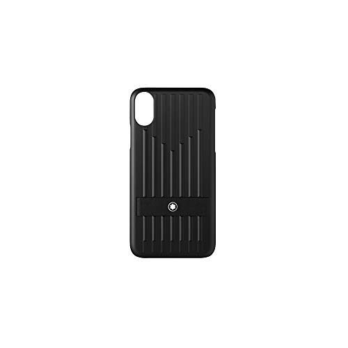 Montblanc My Montblanc Nightflight - Funda rígida para iPhone XS (14 cm), Color Negro