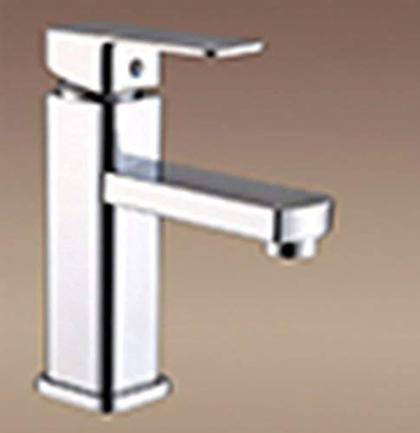 CFHJN HOME Copper washing the face bathroom Single Single Hole hot and cold water leading to