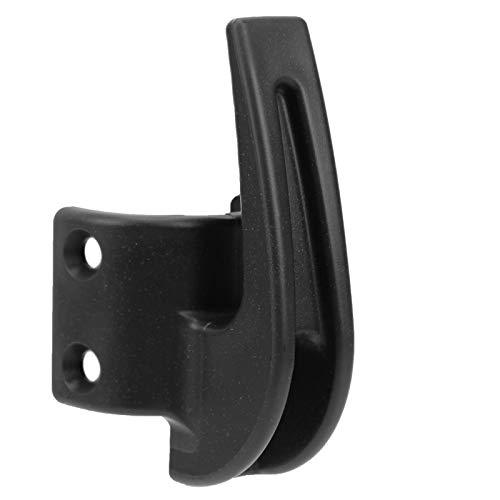 Alomejor Elektroroller-Vorderhaken, tragend 70 kg, Tragehaken-Montagesatz mit Befestigungsschraube für Hängetaschen Kompatibel mit Ninebot MAX G30(schwarz)