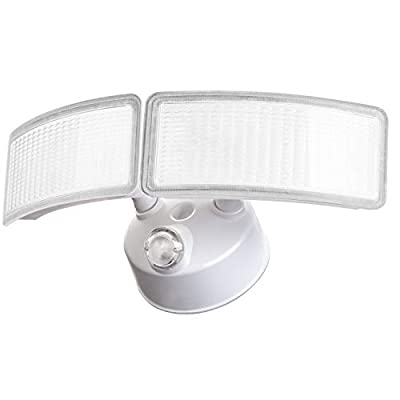 28W Amico LED Flood Light - Dusk to Dawn Security Light Outdoor, 5000K Daylight White 2500 Lumens IP65 Waterproof, 360°Adjustable Heads Flood Light Outdoor with Photocell