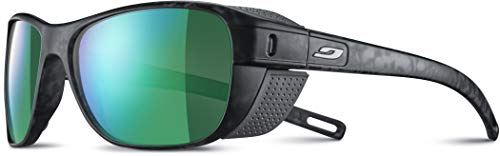 Julbo Unisex Camino Sonnenbrille, Grau Schildpatt/Grün, Einheitsgröße