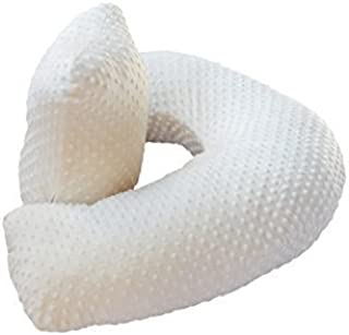 The 4 in 1 One Z CREAM Nursing Pillow w/ AMAZING BACK SUPPORT- CREAM COLOR COVER