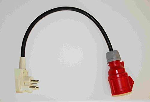 Kraftstromadapter Perilex-Adapter auf 1 x 400 Volt CEE Adapterstecker Verteilerstecker Baustromadapter