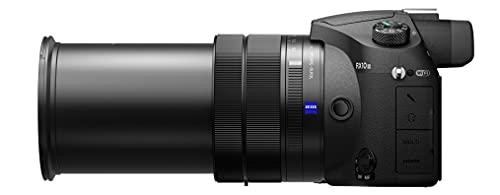 Sony RX10 III | Premium-Kompaktkamera (1.0-Typ-Sensor, 24-600 mm F2.8-4 Zeiss-Objektiv, 4K-Filmaufnahmen)