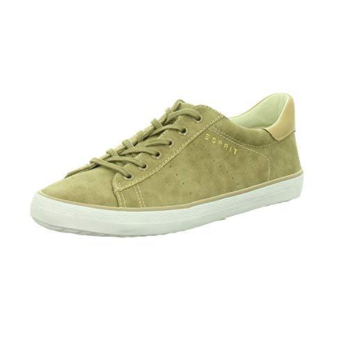 ESPRIT Damen Sneaker Miana Lace Up,Taupe 028EK1W036/241 beige 306744