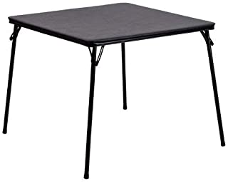 Flash Furniture Black Folding Card Table Limited Edition