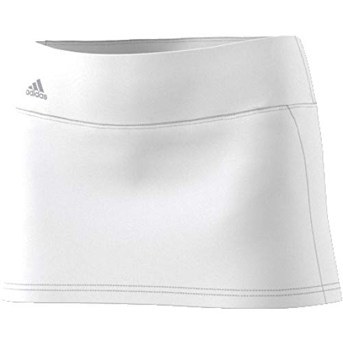 adidas Advantage Skirt Falda de Tenis, Mujer, Blanco (Blanco), L